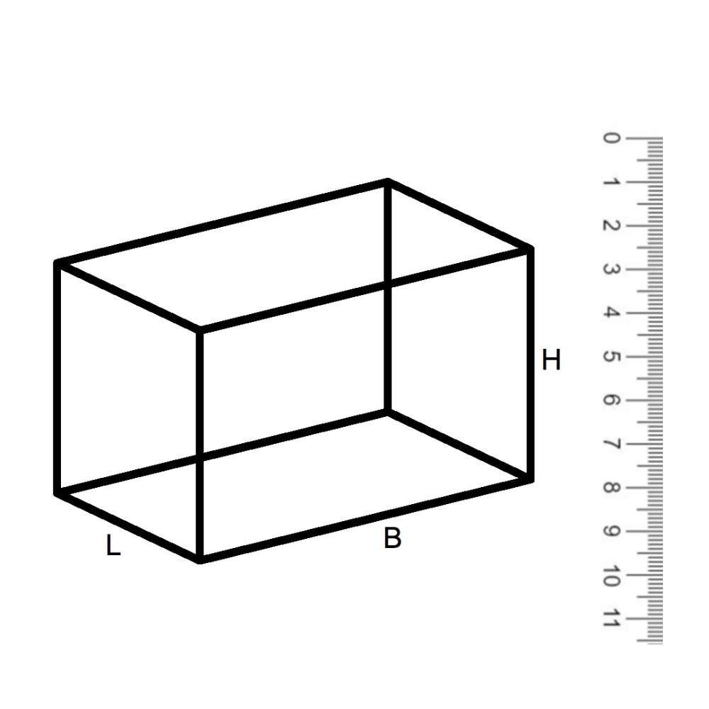 Rechthoek maatwerk corten XL