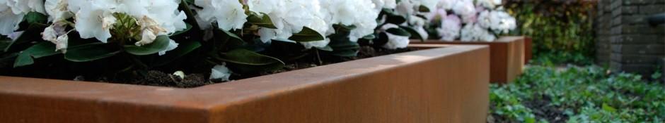 Vierkante plantenbak groot