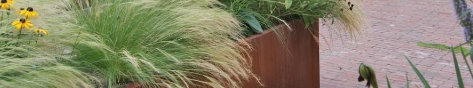 Rechthoekige plantenbakken klein