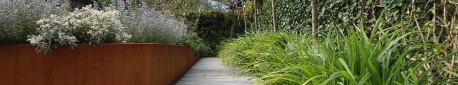 Rechthoekige plantenbakken groot